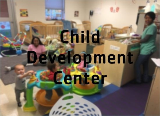 Click to learn more about the child development center