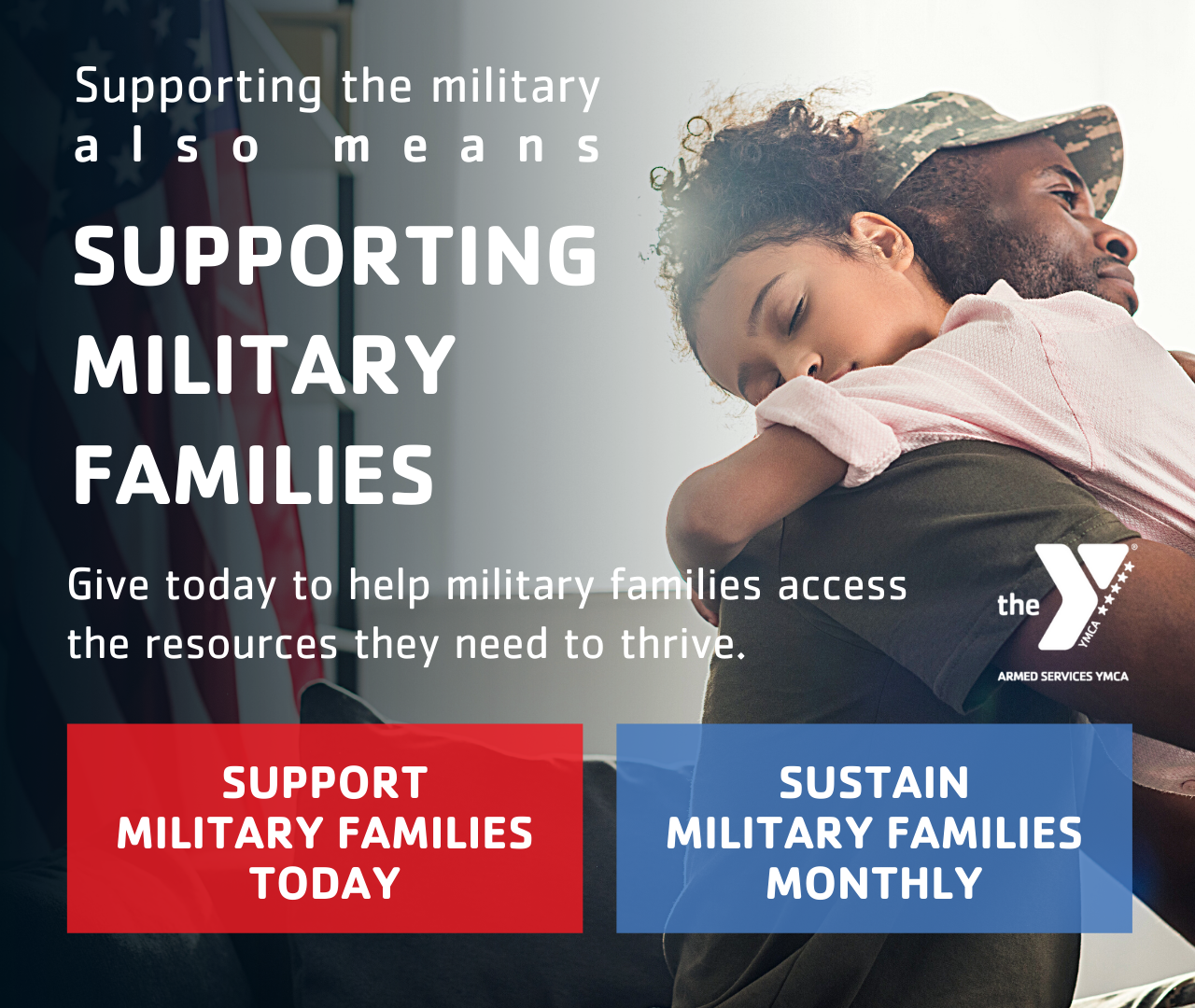 Help Us Support Military Families Logo