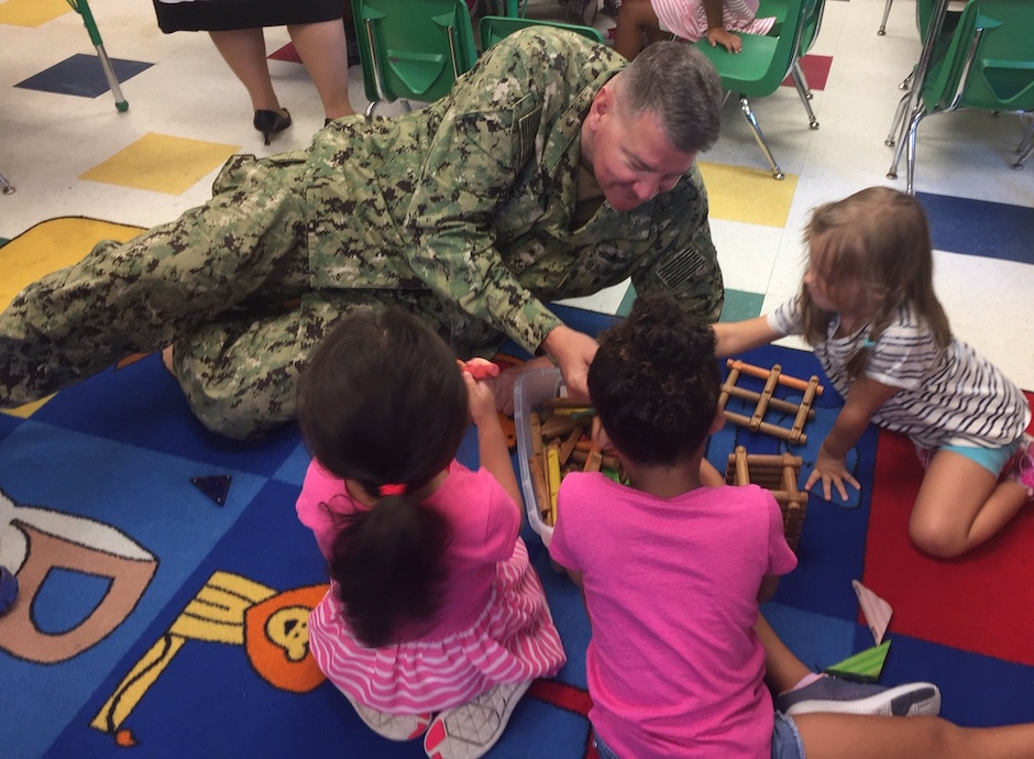 Rear Adm. Charles Rock: Navys service extends to COVID-19