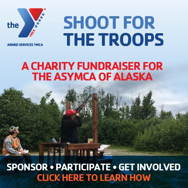 Click to get involved in the ASYMCA's Shoot for the Troops Fundraiser