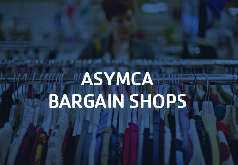 Click to learn more about the ASYMCA Bargain Shops