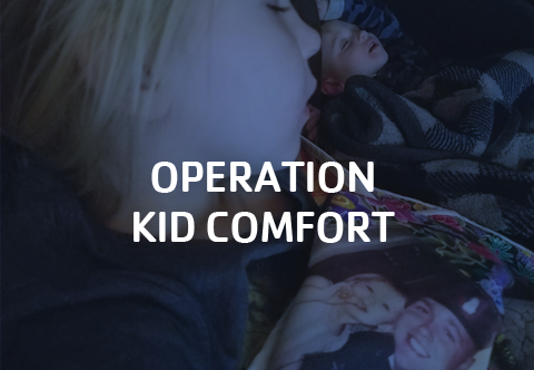 Click to learn more about Operation Kid Comfort