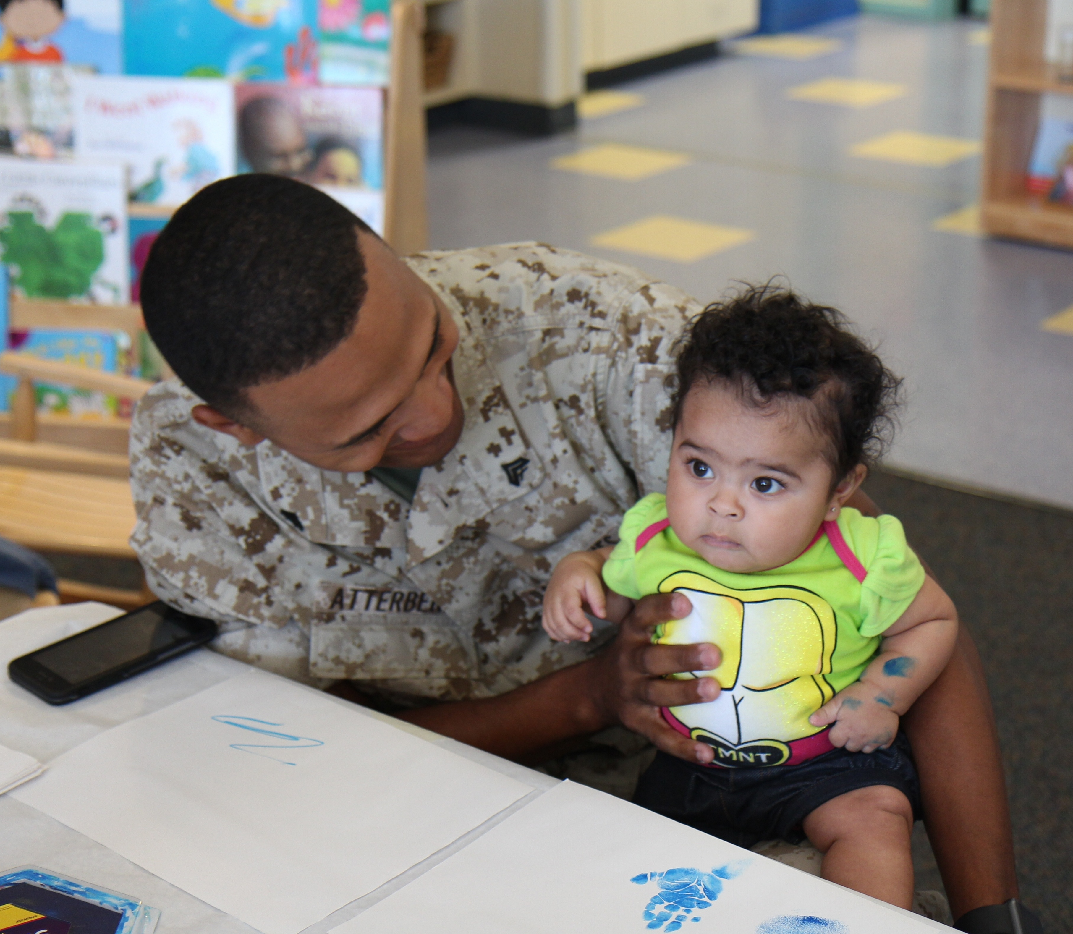 camp pendleton military family marine child children early childhood education fisher center