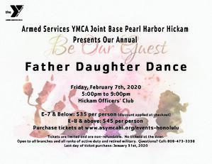 Father Daughter Dance 2020 Feb 7