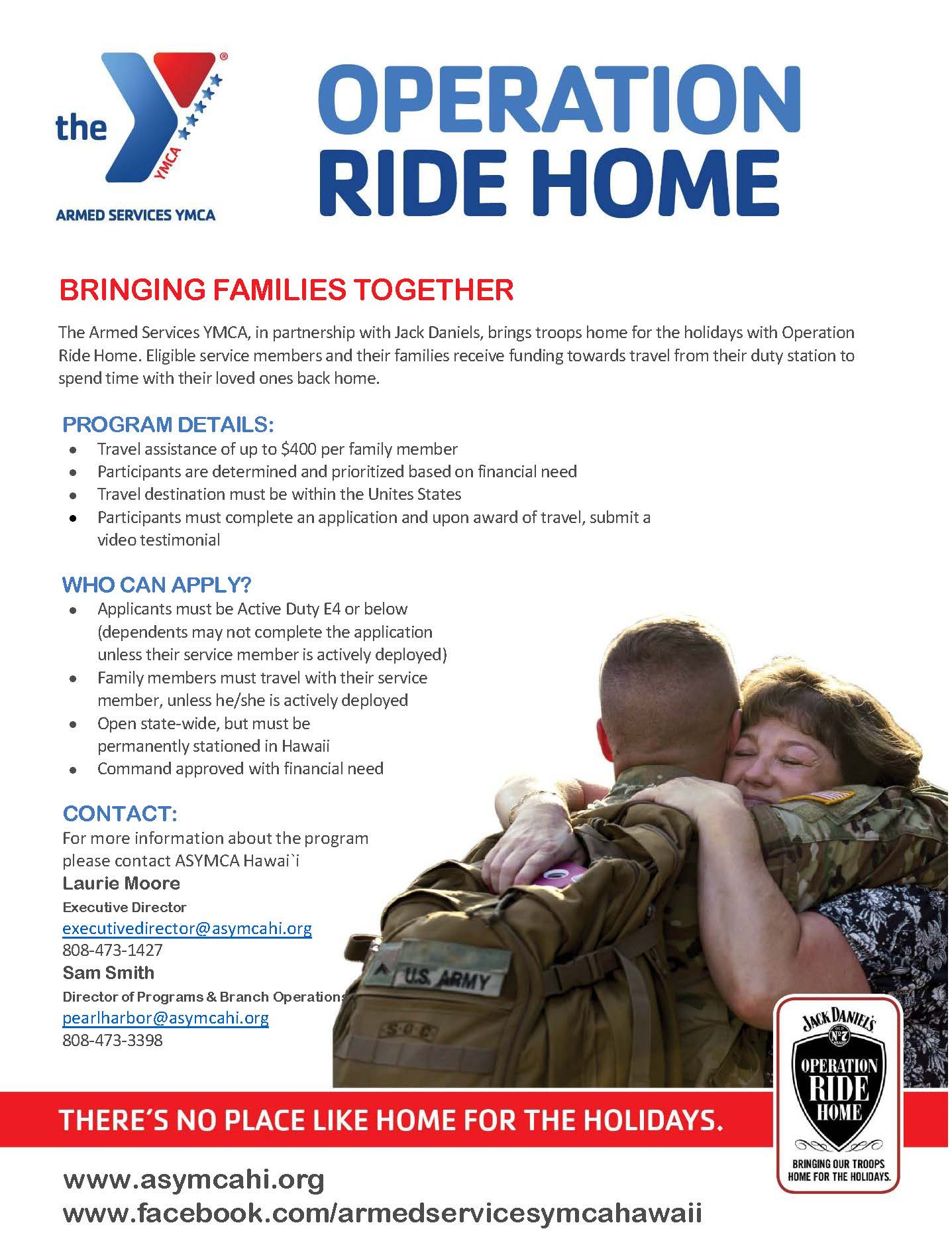 Op Ride Home Flier ASYMCA Hawaii-1