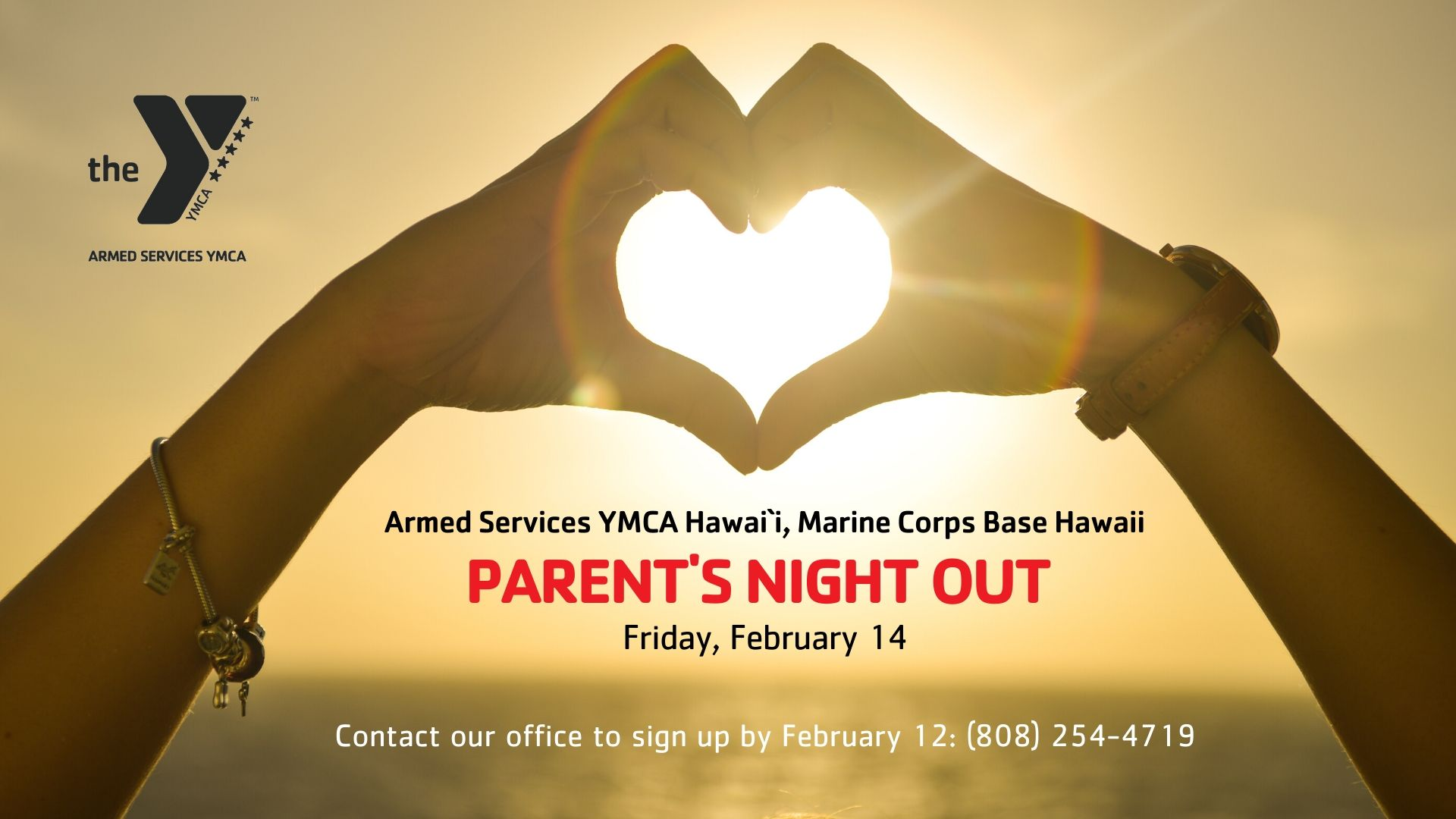 Parents Night Out Event Page