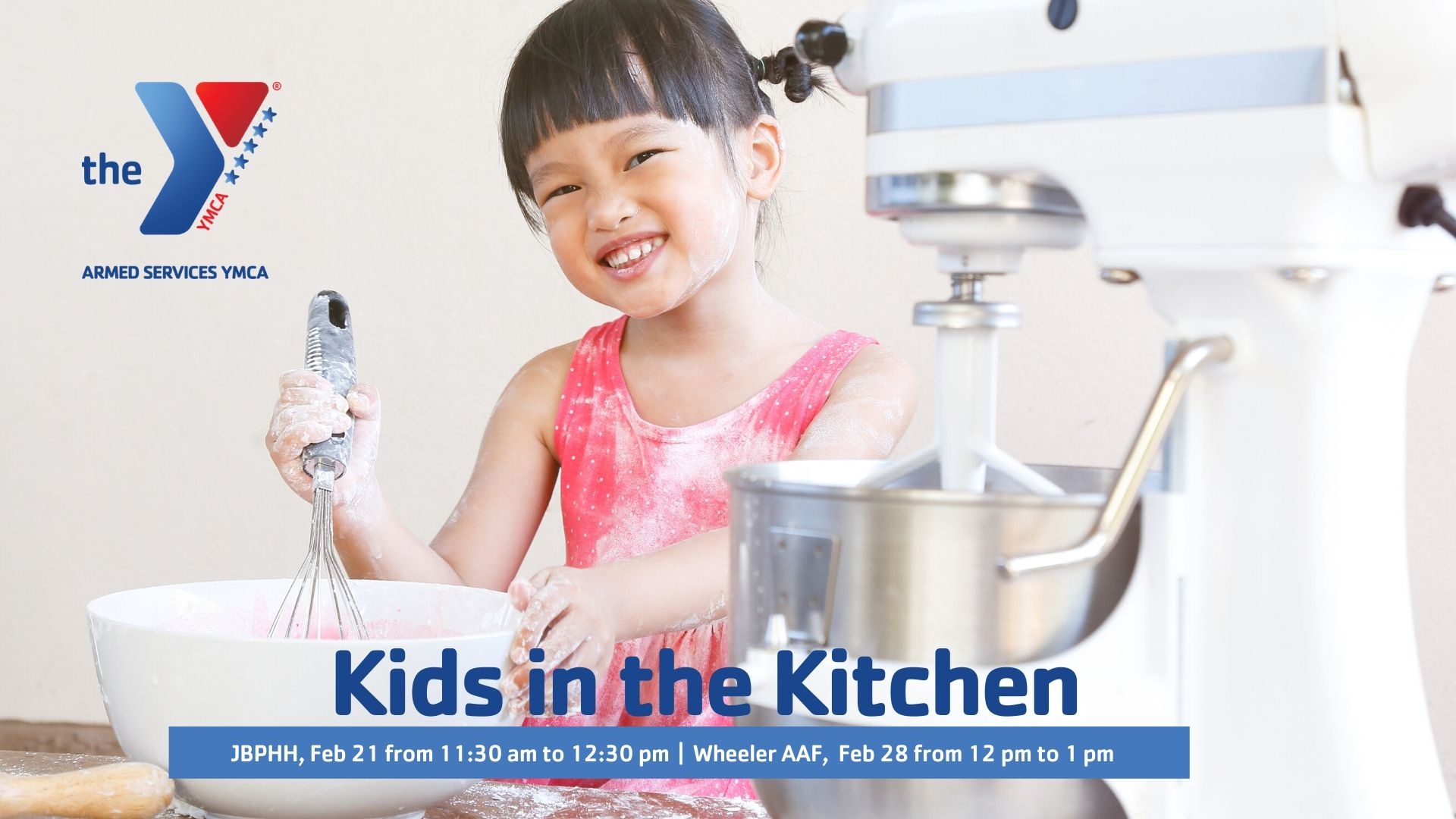 Kids in the Kitchen Event Feb