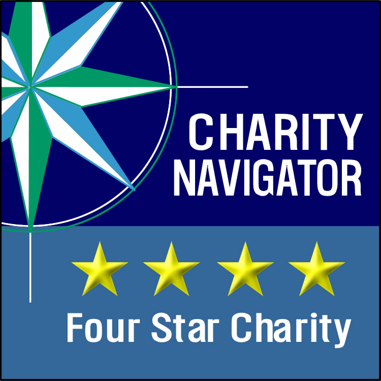 Top Rated by Charity Navigator