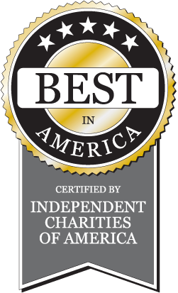 Independent Charities of America award logo