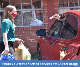 Photo Courtesy of Armed Services YMCA Fort Bragg