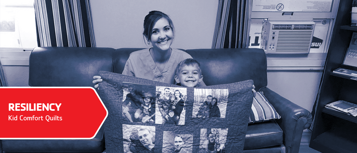 Kid Comfort supports resiliency for military kids. Click to learn more.