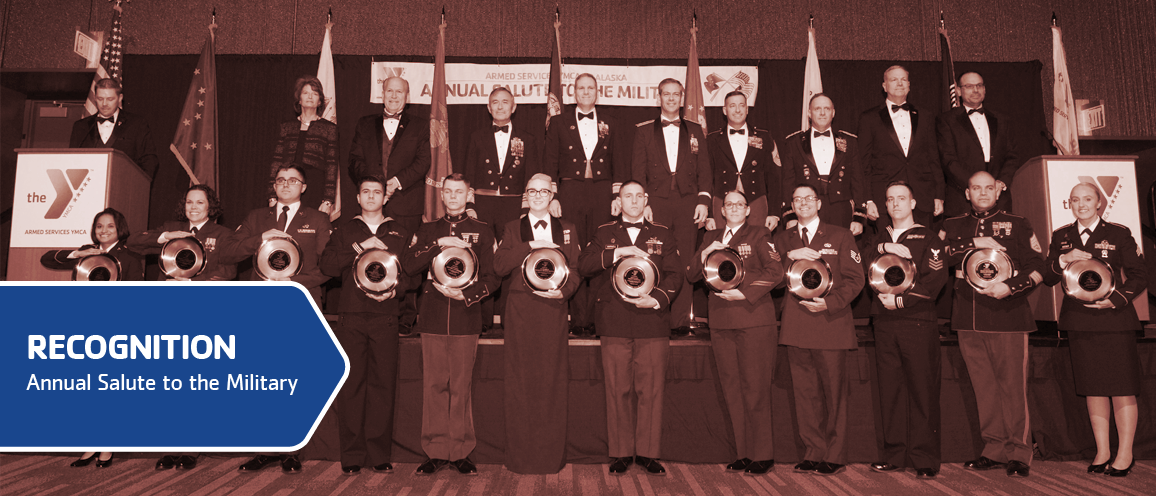 Salute to the Military recognizes enlisted military. Click to learn more.