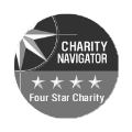 Charity Navigator 4 star Seal