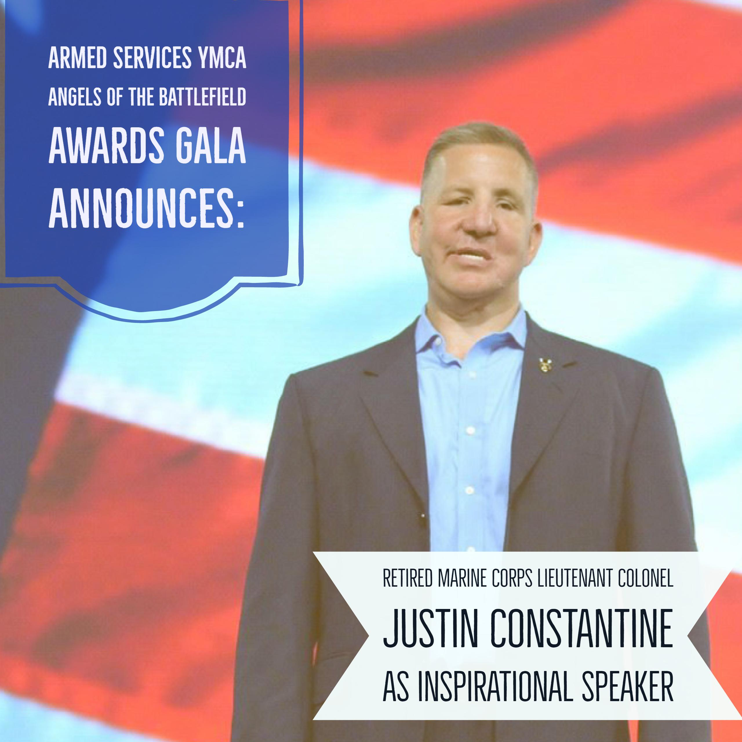 Justin Constantine Announced as Angels of the Battlefield Awards Gala Inspirational Speaker